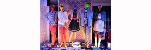 für Mode, Schuhe und Bekleidung