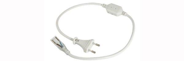 Kabel, Verbinder und Netzstecker