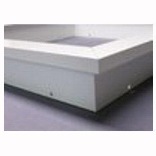 Einbaurahmen für LED Panel 120 x 30cm weiß, Set für Gipskartondecken