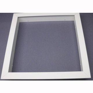 Einbaurahmen für LED Panel   62x62cm weiß oder silber, Set für Gipskartondecken