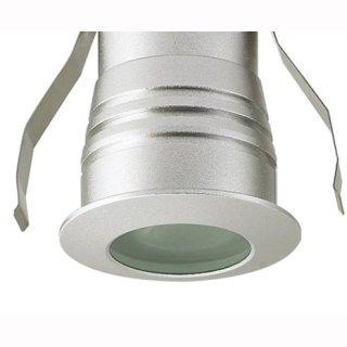 Einbauspot LED Cree 3W, 60°, 12V DC, IP54, für Unterputzmontage, D42mm H45,4mm