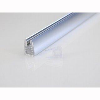 Endkappe für Glaskantenprofil, Glasdicke: 6mm