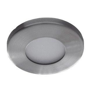 Einbauring Feuchtraum, starr MR16  rund IP65, satin nickel, ISO 111574