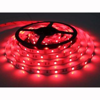 Flex Stripe rot, blau oder grün SMD 5050/60 LEDs/m, 12V oder 24V 14W/m IP 20