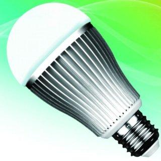 E27, LED- Kugelbirne, 9W, 2700-3200K+ RGB, bedienbar mit 2.4G RF-Farbradfernbedienung (23112274)