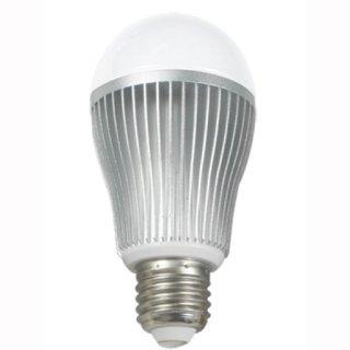 E27, LED- Kugelbirne, 9W, dualweiß(WW+KW), bedienbar mit 2.4G RF-Fernbedienung, dualweiß (23113466)