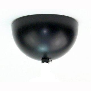 Leuchter-Baldachin, Kugelform, schwarz ohne Aufhänger