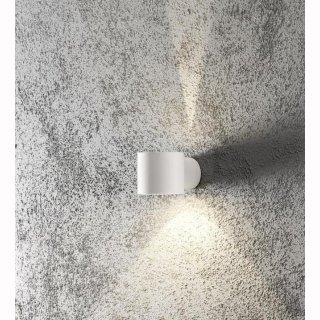 LED Wandlampe Modena Square, rund, 1xG9, up&down