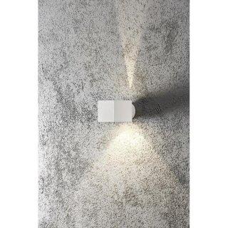 LED Wandlampe Modena Square, quadratisch, 1xG9, up&down