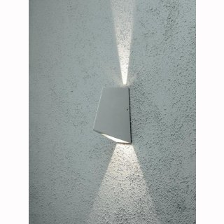 High Power LED- Wandlampe, Imola, up&down, 8W, 3000K, 500lm, 45°