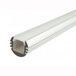 MikaLux Premium-Line Alu- Profil PDS- O, für LED- Profile, 18,5x 15,75,  rund