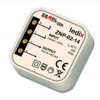 Netzteil für Doseneinbau 12VDC   2W  ZNP-02-12 Ledix ZNP 0212