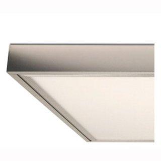 Aufbaurahmen für LED Panel 600 x 1200 mm, silber