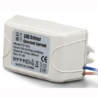 LED Konstantstromtreiber  350mA DC, 1-3W, IP65 - nur in Serienschaltung!