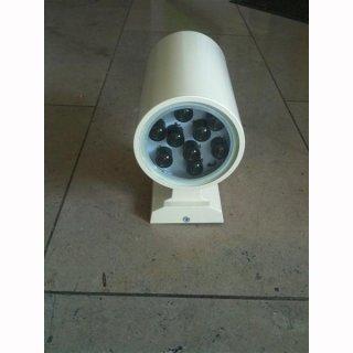MikaLux Premium-Line Wandaufbaulampe up-down 18W RGB