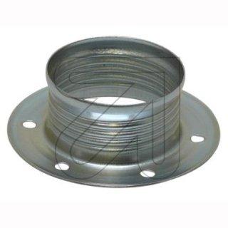 Metall-Schraubring, für E14, chrom