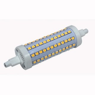 R7s LED-Stab 10W, 118mm, rund, 360°, 3000K, dimmbar, 1000lm
