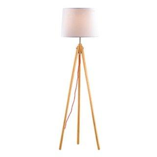 York PT1, Stehlampe, naturholz/weiß, E27
