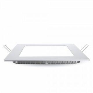LED Panelleuchte 30x30x2,5cm 18W weißer Rahmen 2000Lm 120°