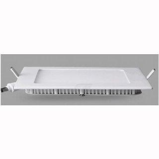 Panelleuchte flach Einbau weiß, quadratisch, LED 24W, 30x30x1,5cm mit Federn, 4000K