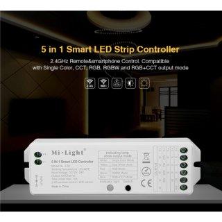 2.4  Smart 5 in 1 Controller 12V/24V  f. RGB+CCT Flex Stripe LS2