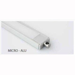 Endkappe mit Stromanschluß für Alu-Profil Micro