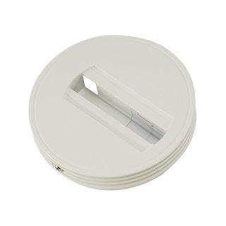 Wand- u. Deckenadapter 1-Phase für Stromschiene 1-Phase, Ø12cm