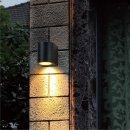 LED- Wandlampe Logan, rund 4W GU10, 345lm, 2700K, IP44...