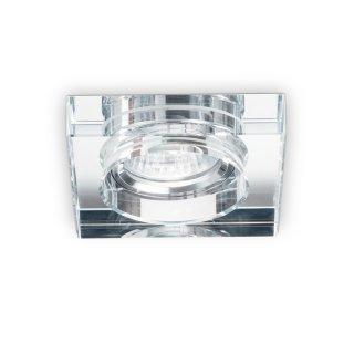 Einbauring Blues square GU10, DA=58-70mm, Glas transparent