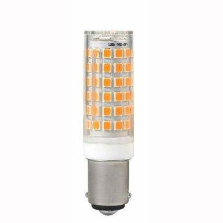 LED Kornlampe klar 10W, b15d, 360°, 3000K 230V, 850llm, wie 70Wm, 67mm, nicht dimmbar