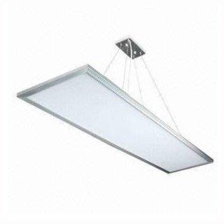 LED Panelleuchte 120x30x1,2cm 36-58W Dualweiß, CCT, silber, Aufhängung optional