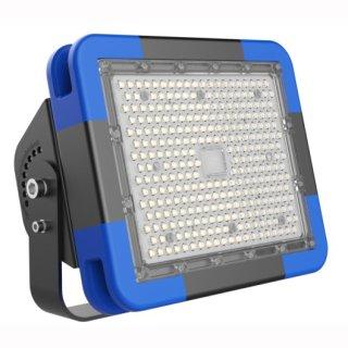 LED Fluter, Wallwasher 180W IP65 10°  blau