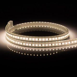 Mikalux 230V LED Lichtschlauch 120 SMD-LED 2835 LEDs/m, 1m  IP65 / lfm, teilbar alle 50cm