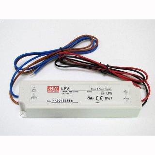 MeanWell LED Trafo LPV  18W IP66 DC Gleichstrom