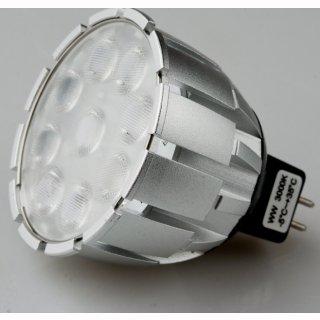 MR16 LED  8W 530lm Premium Nichia 36° warmweiß, dimmbar 12V AC/DC