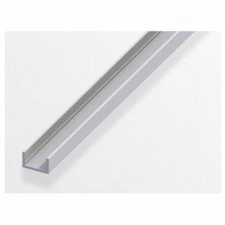 Mikalux Alu-U-Profil -flach/glatt- 10x13x10mm