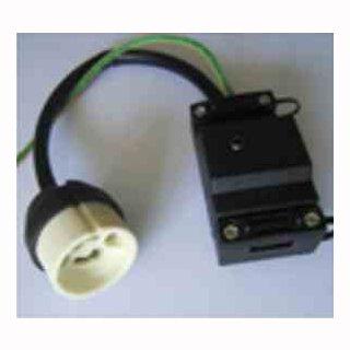 GU10 Adapter Sockel mit Erde und Zugentlastung