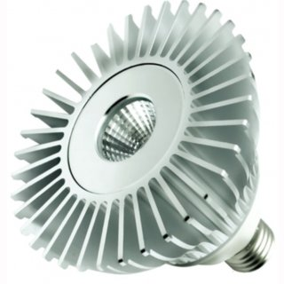 PAR 38 LED 30W COB Sharp E27 20° / 30° / 40° warmweiß 3000K, kaltweiß 5000K, opt. dimmbar