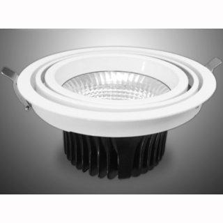 kardanische Deckeneinbaulampe rund COB LED 1x28W 24° 2000-2200 lm CRI 90 2700-6000K