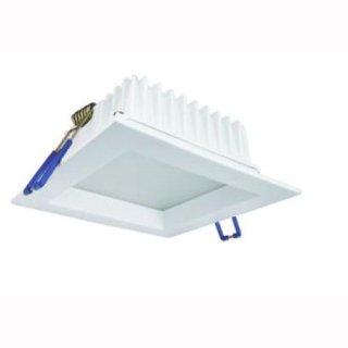 Downlight 20W quadrat weiß Ausschnitt 170x170mm, opt. dimmbar