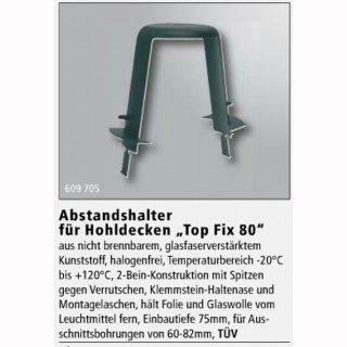 Abstandhalter für Einbauringe in Hohldecken Top Fix 80 DA=60-82mm, ET=75mm