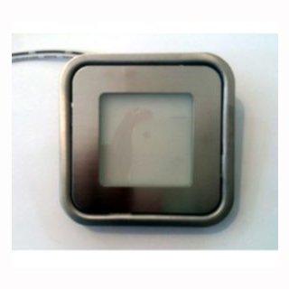 Bodeneinbauleuchte SLIM  0,6 Watt,  3000K, 12V, quadratisch