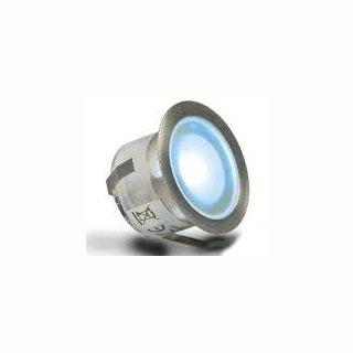 LED Bodenstrahler, rund, IP67, edelstahl