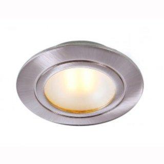 Kücheneinbau LED COB 3W rund, 90°, Alu gebürstet, 350mA, dimmbar, DA 54mm, H 15mm - nur in Serienschaltung!