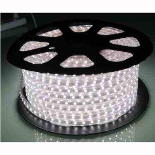 Lichtschlauch SMD 5050 LED 230V weiß / warmweiß, 1m  IP65 / lfm