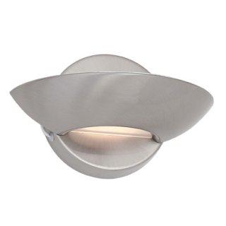 Wandleuchte Lumina nickel 2-flammig, G9, 230V