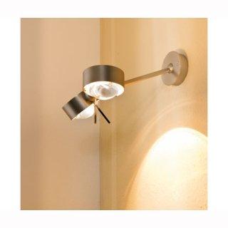 LED Wandaufbaulampe PUK Wing Twin LED Kopf ohne Linsen