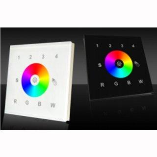 RGB(W) 4 Kanal 4 Zonen Wand-Einbau Funk Fernbedienung 2820 (passend für 1009FA)