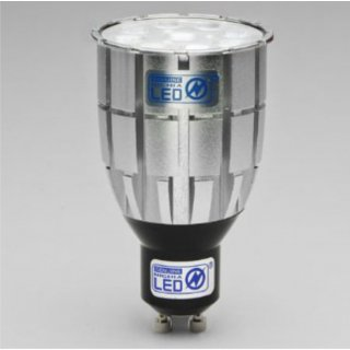 GU10 9W Nichia 45°, dimmbar mit Phasenabschnitt, CRI 85