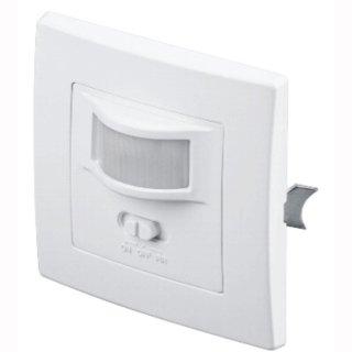 Infrarot Bewegungsmelder zur Unterputzmontage in Innenräumen 160°